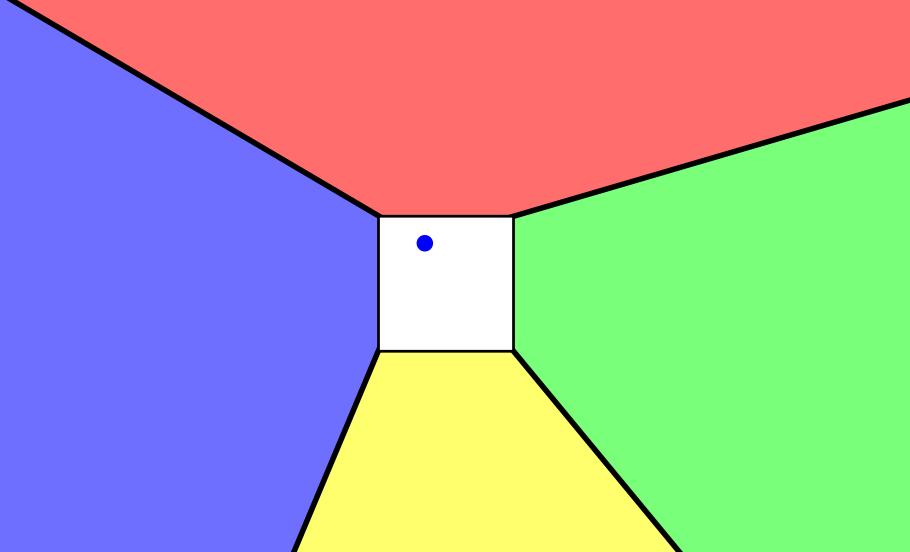 Non Euclidean Vision